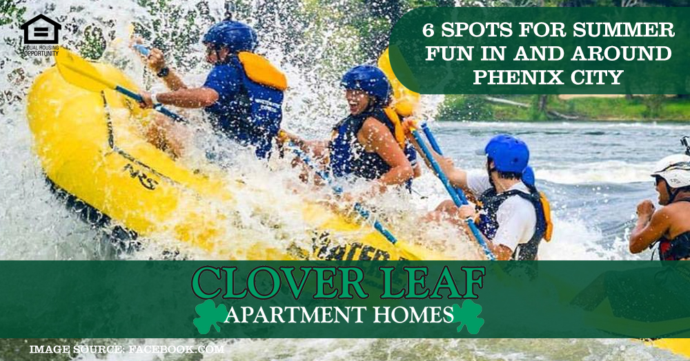 Spots for Summer Fun in and Around Phenix City