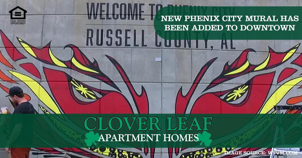 new Phenix City Mural