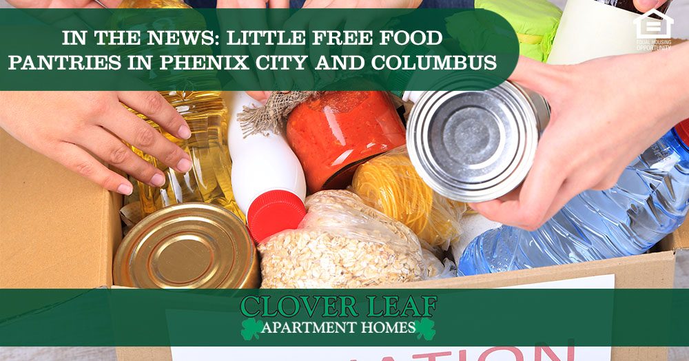 Little Free Food Pantries in Phenix City and Columbus