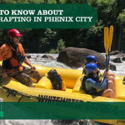 whitewater rafting in Phenix City