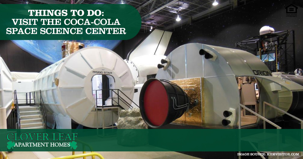 Visit the Coca-Cola Space Science Center