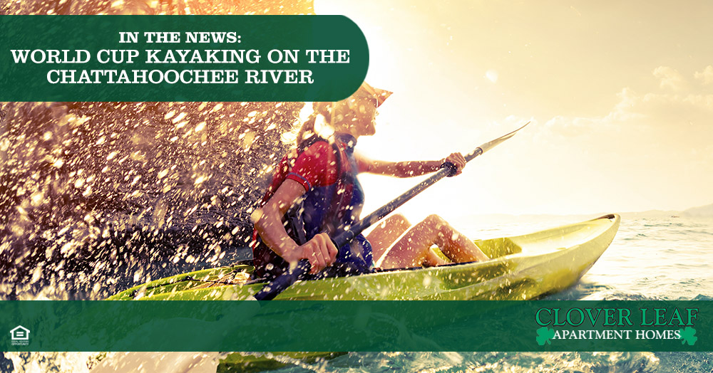 In the News: World Cup Kayaking on the Chattahoochee River